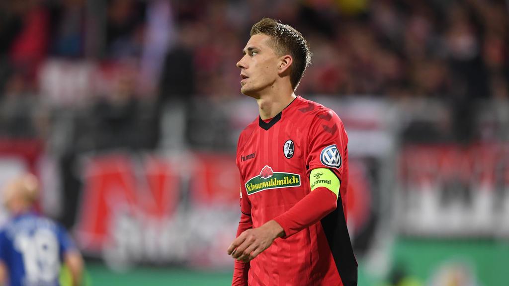 Stürmer Nils Petersen wird dem SC Freiburg fehlen