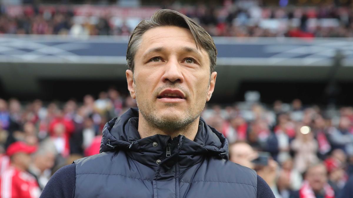 FC-Bayern-Trainer Niko Kovac stellte sich den Fragen der Journalisten