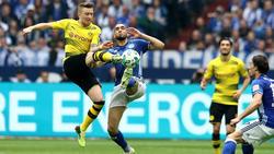 Im Derby zwischen dem FC Schalke und dem BVB geht es traditionell hoch her