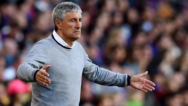 Quique Setien ist kein Trainer mehr in Sevilla