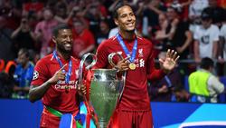 Van Dijk ganó la Champions con el Liverpool.