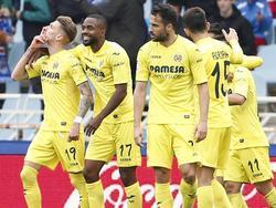 Samu Castillejo (izq.) marcó el único gol en Anoeta. (Foto: Imago)