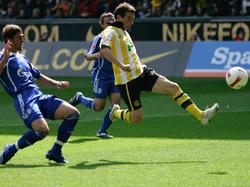 Alexander Frei traf insgesamt viermal gegen den FC Schalke
