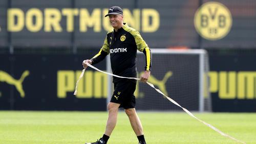 Lucien Favre bereist mit dem BVB die USA