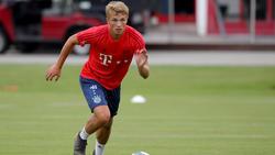 Jann-Fiete Arp will sich beim FC Bayern durchsetzen