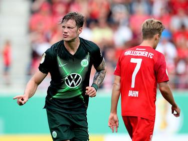 Später Jubel bei den Wolfsburgern