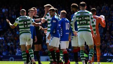 Zwischen Celtic und Rangers gab es jede Menge Gesprächsstoff