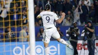 Zlatan Ibrahimovic schoss Galaxy zum Sieg