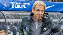 Jürgen Klinsmann soll Hertha BSC aus dem Tabellenkeller führen