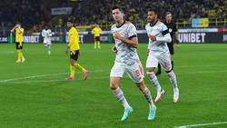 Lewandowski hizo doblete ante su ex equipo.