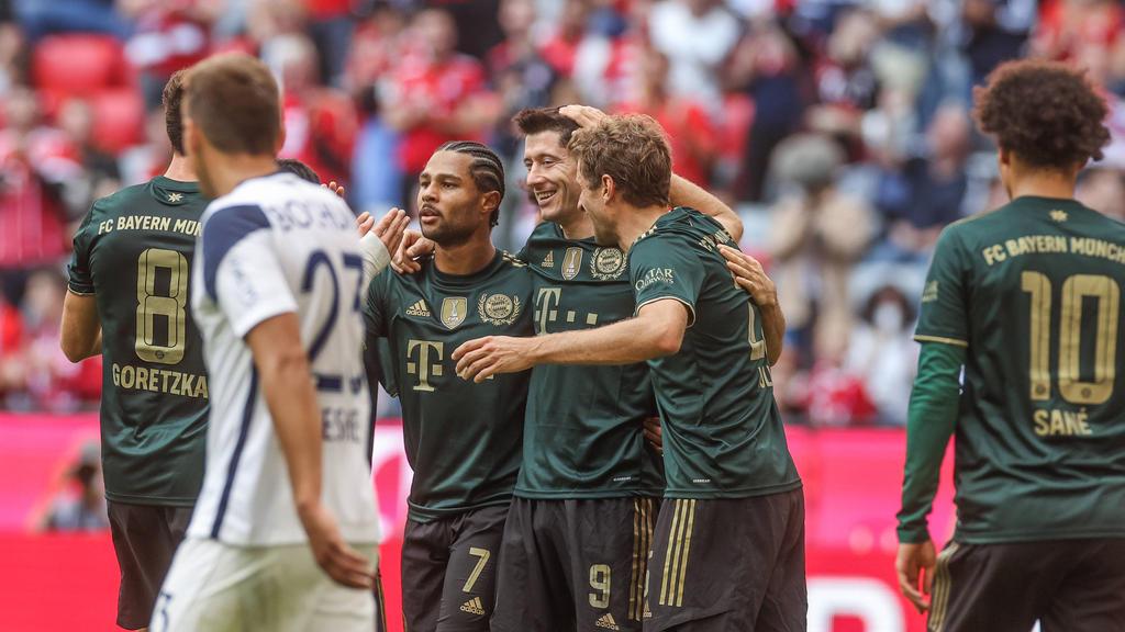 Der FC Bayern hat einen klaren Sieg gefeiert