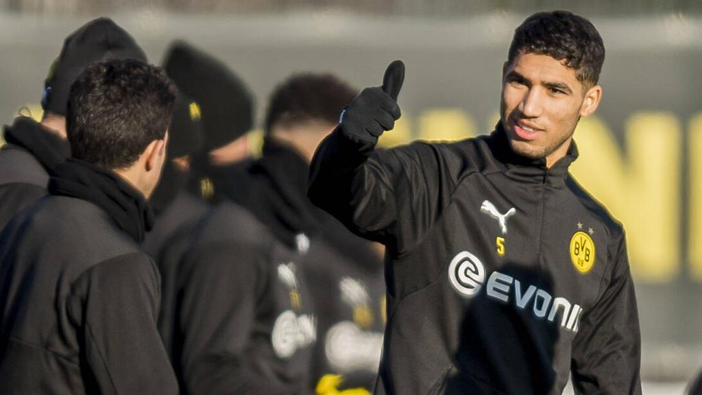 Liegt die Zukunft von Achraf Hakimi beim BVB, beim FC Bayern oder bei Real Madrid?
