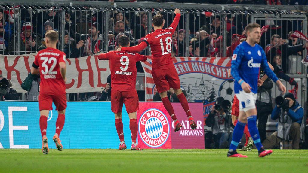 Wie Hat Bayern Gegen Schalke Gespielt