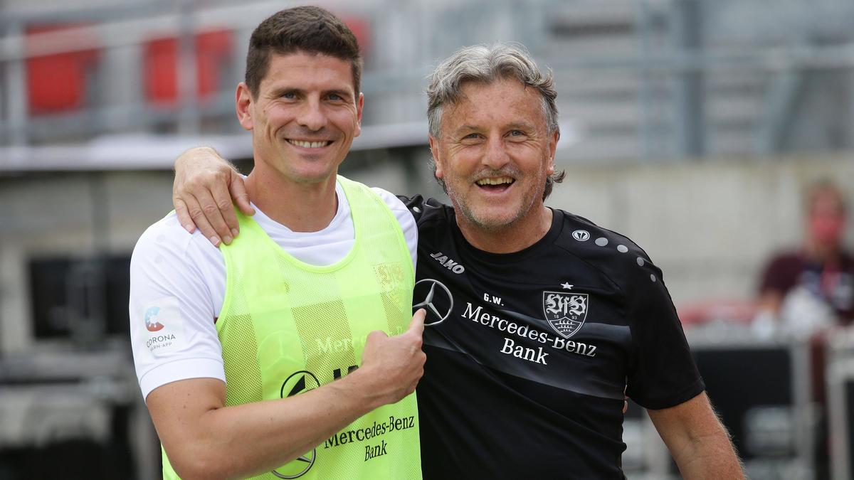 Soll auch ohne Zuschauer eine gebührende Verabschiedung beim VfB Stuttgart bekommen: Mario Gomez