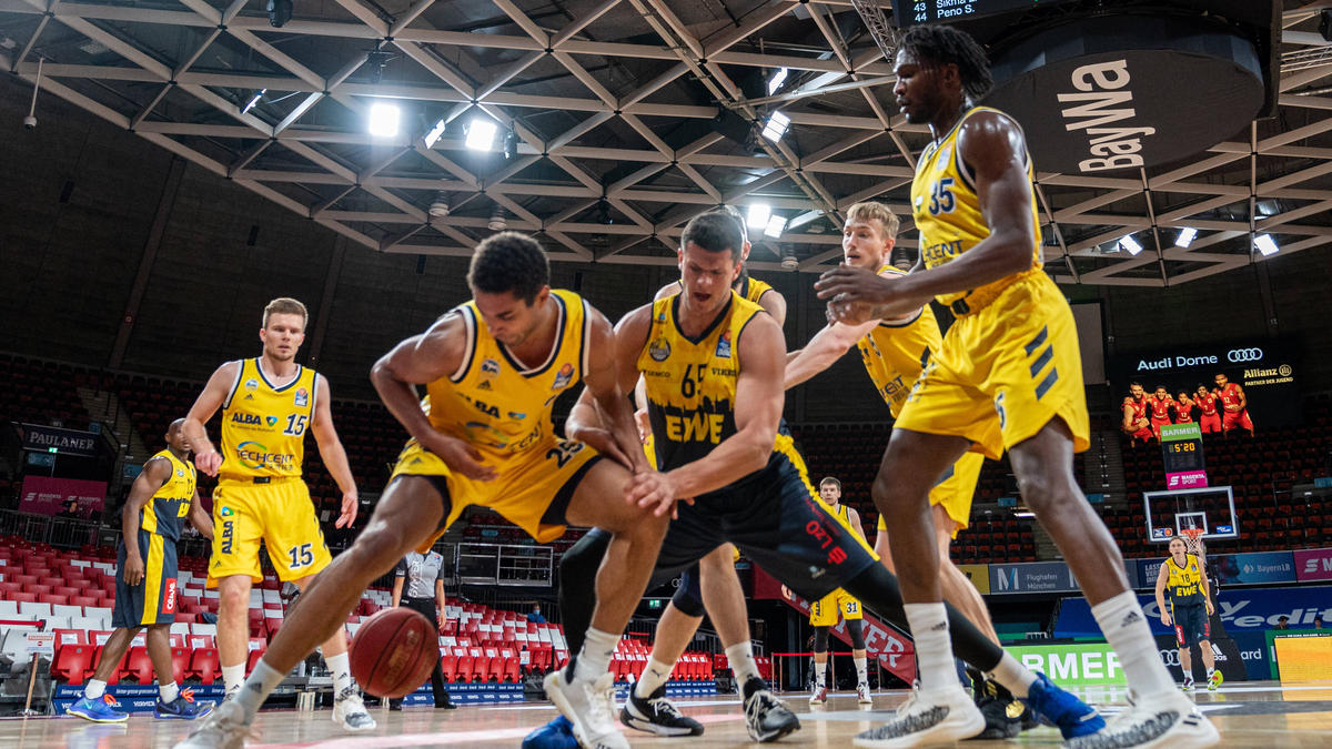 Die Baskets Oldenburg hatten keine Chancen gegen Alba Berlin