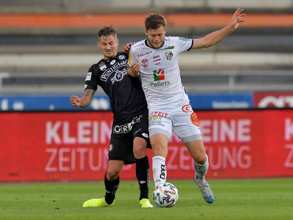 Ab sofort wird Thorsten Röcher (li.) mit und nicht gegen Dominik Baumgartner spielen