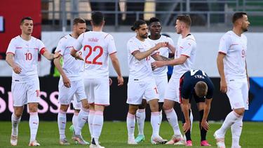 Die Schweiz besiegte die USA im Testspiel