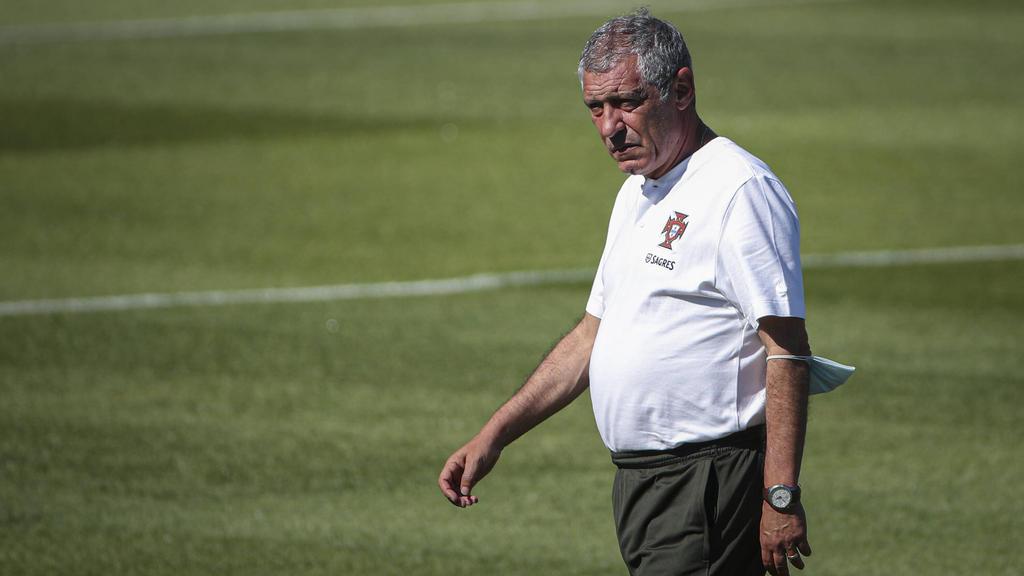 Portugals Trainer Fernando Santos lobt die deutsche Nationalmannschaft