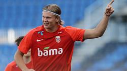 BVB-Star Erling Haaland könnte mit Norwegen an der WM in Katar teilnehmen