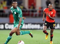 Afrika Cup 2010: Nigeria ohne Probleme gegen Mosambik
