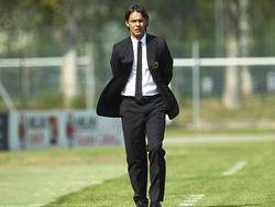 Filippo Inzaghi, allenatore del Milan