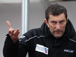 Hakt den Aufstieg ab: RWE-Trainer Walter Kogler