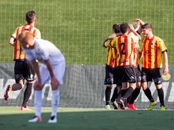 Lleida fegt über Real Madrids B-Team hinweg