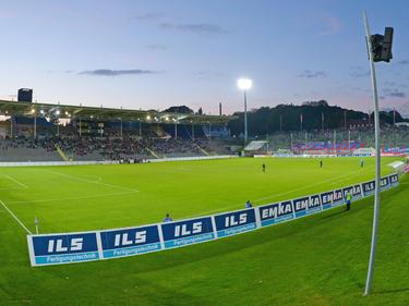 Das Stadion am Zoo des Wuppertaler SV
