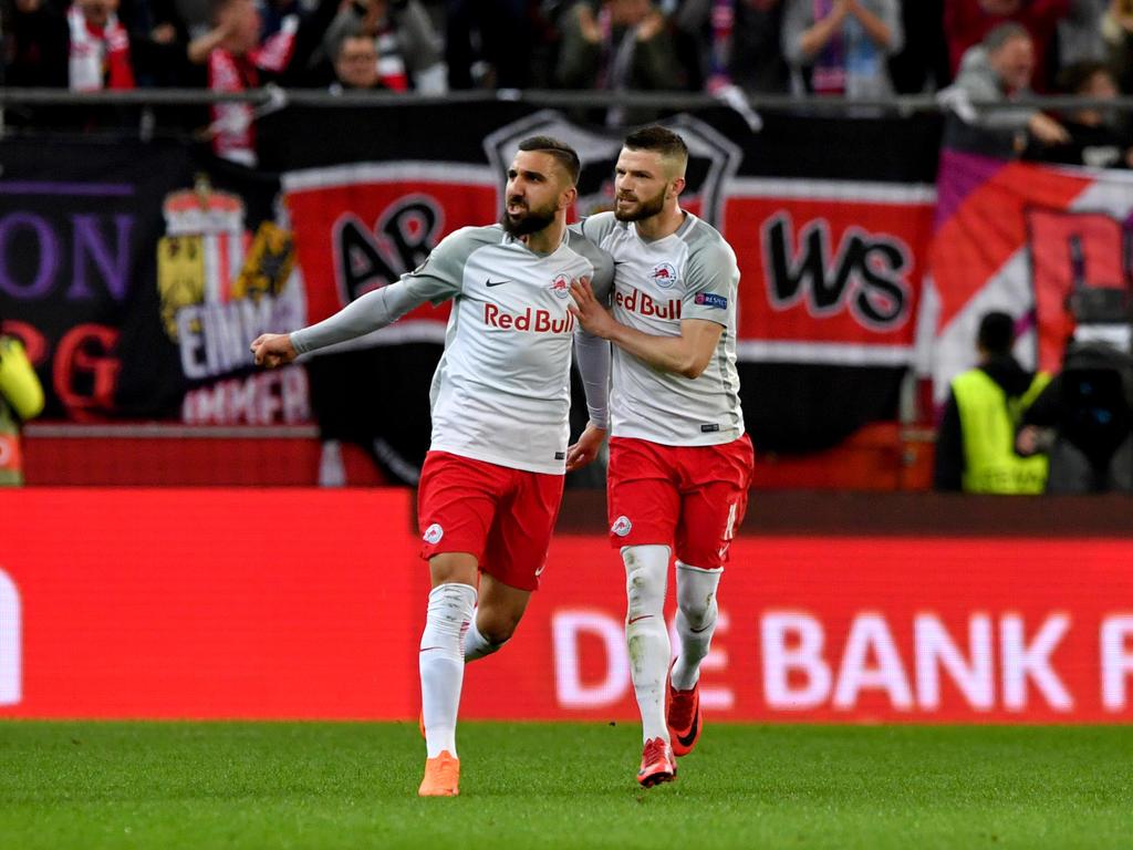 RB Salzburg steht im Halbfinale der Europa League