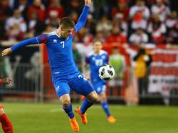 Jóhann Berg Gudmundsson fällt voraussichtlich für das zweite WM-Spiel aus