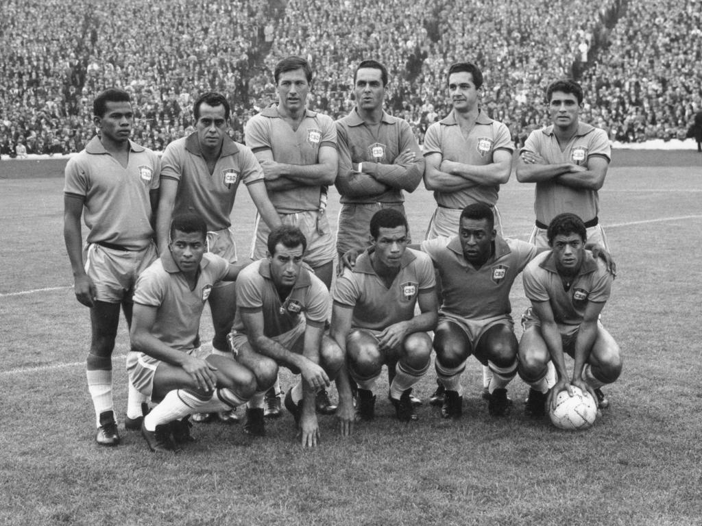 1966 scheiterte Brasilien mit Pelé