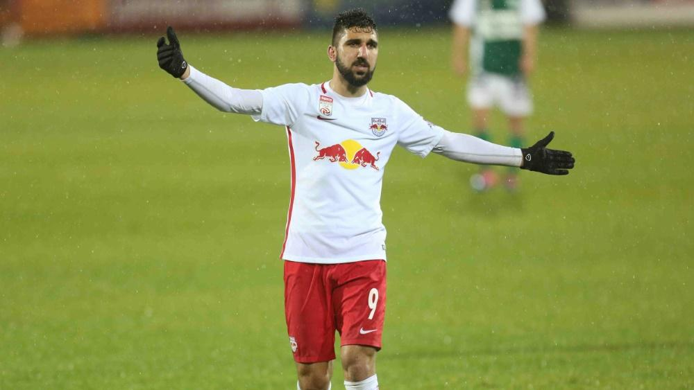 Munas Dabbur traf zur Führung und zum 2:0 für Salzburg