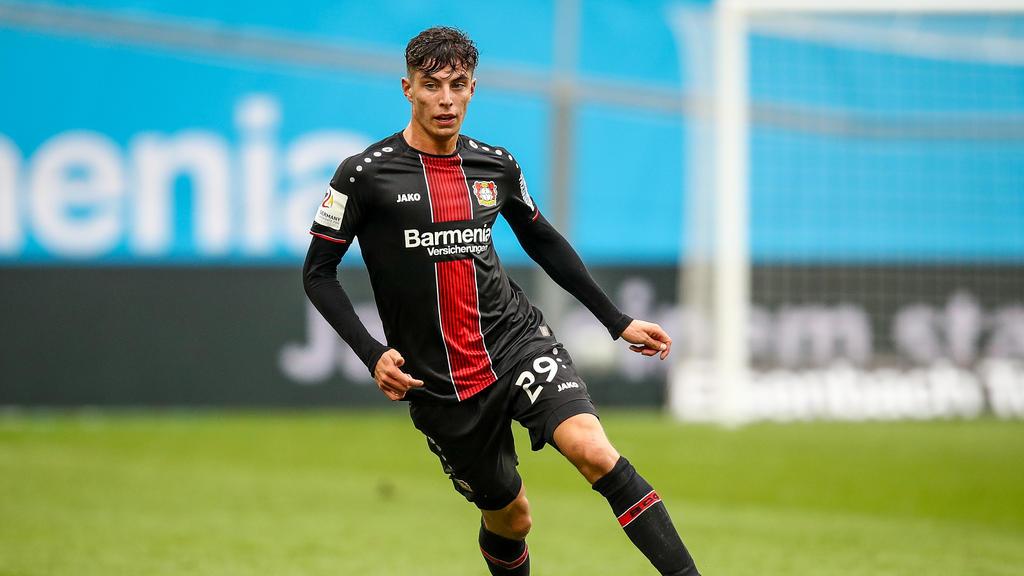 Kai Havertz ist der Mann der Stunde bei Bayer Leverkusen