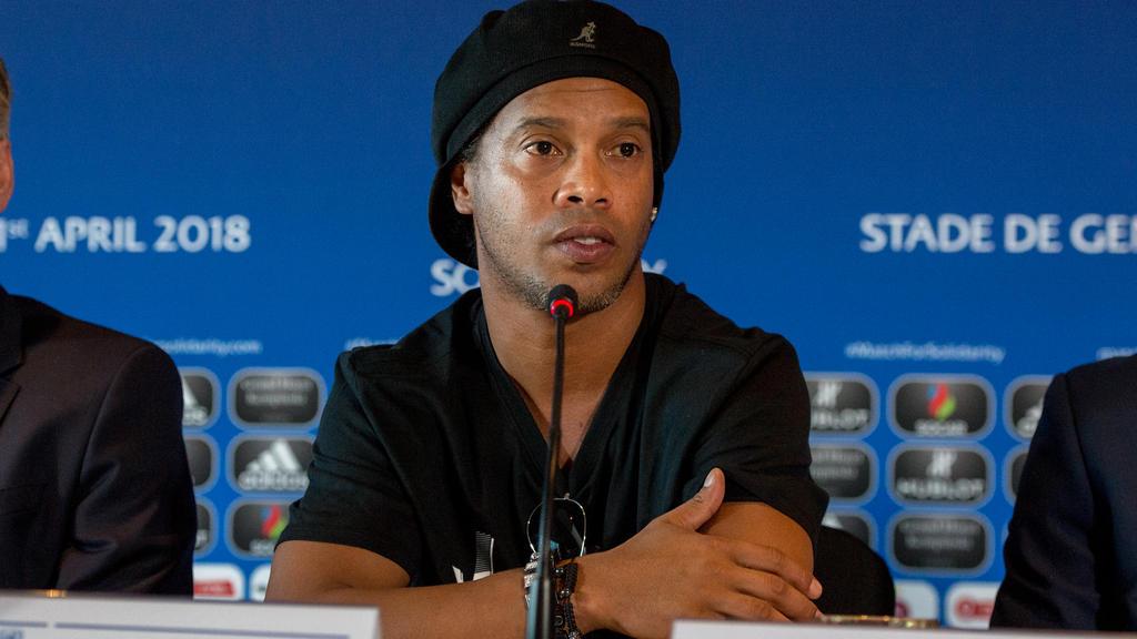 Ronaldinho hat anscheinend kein finanzielles Polster mehr