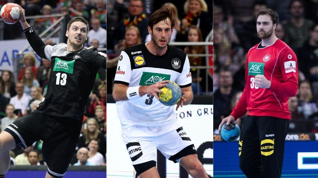 Hendrik Pekeler (l.), Uwe Gensheimer oder Andreas Wolff: Wie hoch sind die Gehälter der Handball-Stars