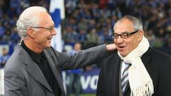 Traut dem BVB die Meisterschaft zu: Franz Beckenbauer (l.)