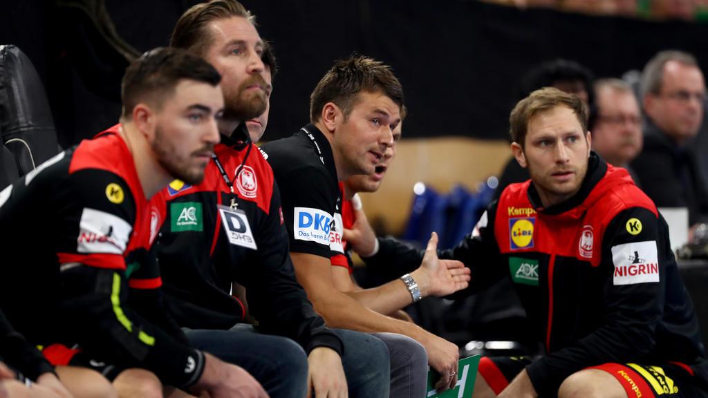 Bundestrainer Prokop (M.) will eine gute WM spielen