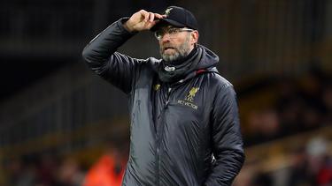 Jürgen Klopp und der FC Liverpool sind im FA Cup vorzeitig gescheitert