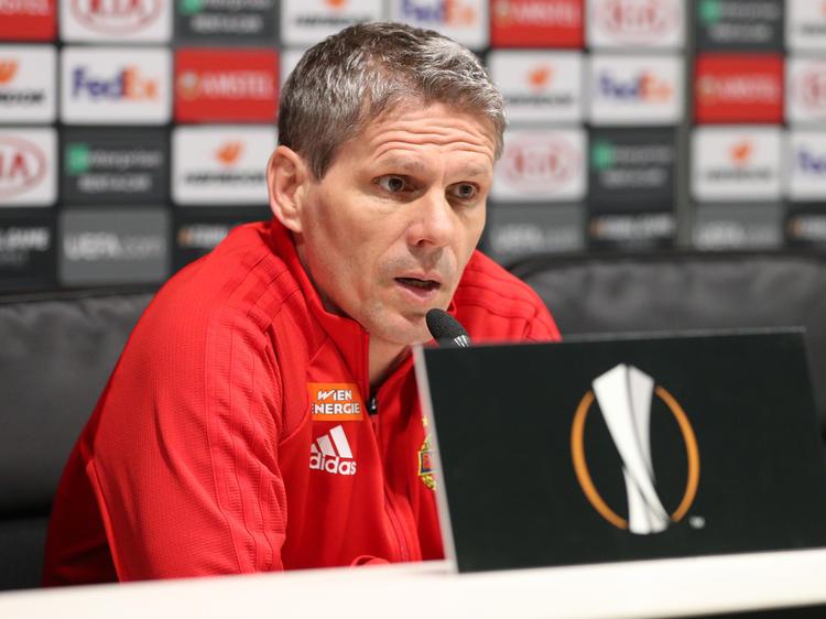 Rapid-Trainer Dietmar Kühbauer will die Mini-Chance gegen Inter Mailand nutzen