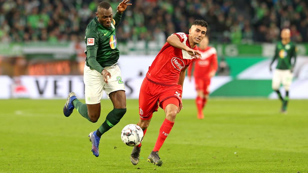 Aymen Barkok ist ein weiteres Jahr von Eintracht Frankfurt an Fortuna Düsseldorf verliehen