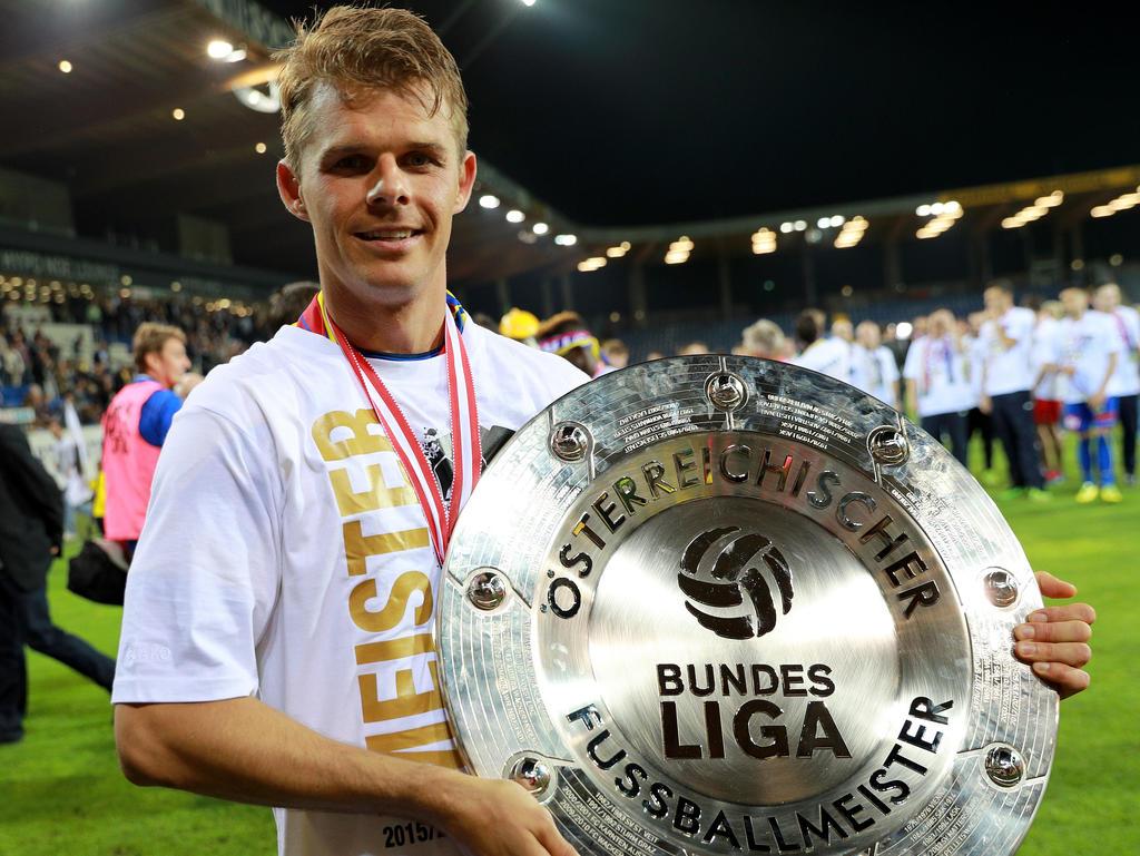 In der Meistersaison in der Ersten Liga war Tomasz Wisio noch überragender SKN-Kapitän