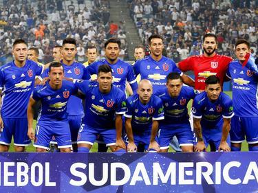 Once de Universidad de Chile contra Corinthians en Sudamericana. (Foto: Imago)
