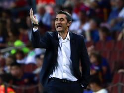 Barcelona-Coach Ernesto Valverde soll plötzlich Abstand von einer Seri-Verpflichtung genommen haben