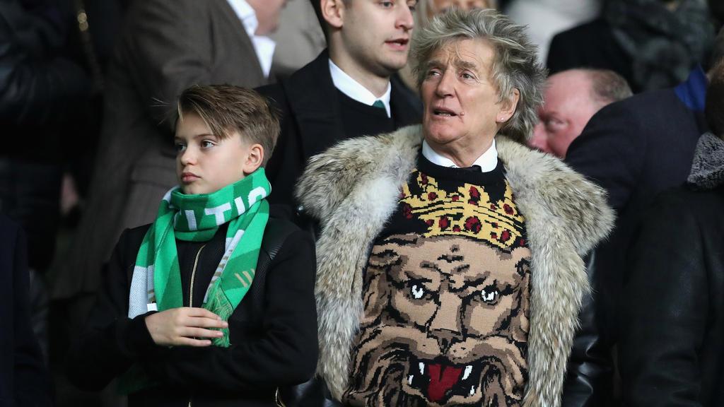 Rod Stewart will Celtic in der Premier League sehen