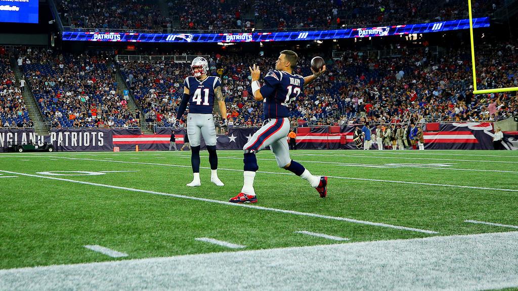 NFL-Superstar Tom Brady will mit den New England Patriots wieder den Titel holen