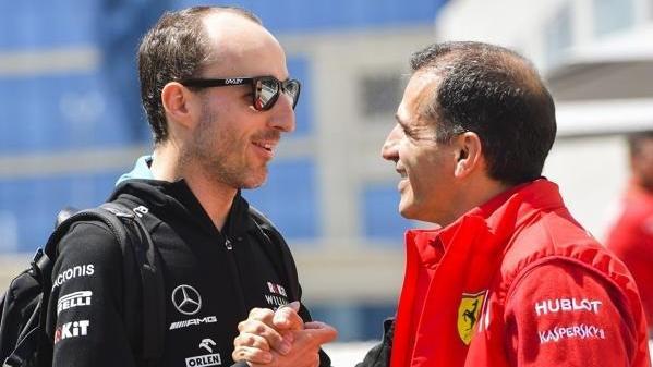 Robert Kubica mit Marc Gene: Führt sein Weg irgendwann doch noch zu Ferrari?