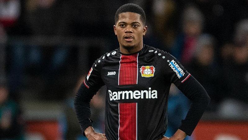 Leon Bailey kassierte gegen den 1. FC Köln eine Rote Karte