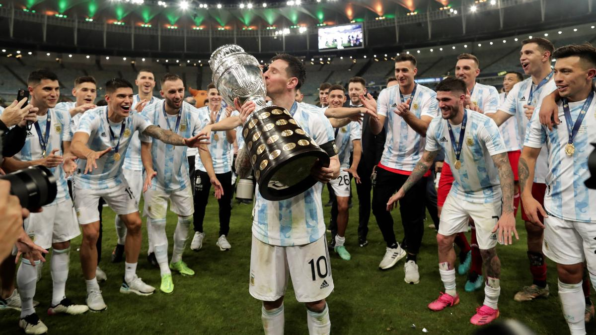 Lionel Messi hat den Titelfluch mit Argentinien endlich gebrochen