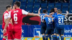 Die TSG Hoffenheim hat dem 1. FC Köln keine Chance gelassen