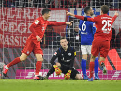Die Bayern hatten mit Schalke überhaupt keine Probleme